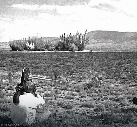 Ovako je pustinja izgledala pre eksplozija, a veoma slično izgleda i danas