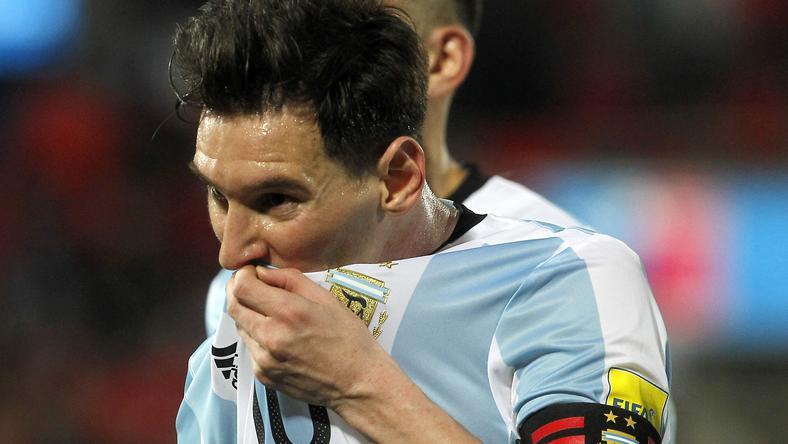 Messi jótékonysága nem jött be/Fotó: AFP