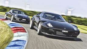 New Stratos kontra Porsche 911 R - czysta pasja