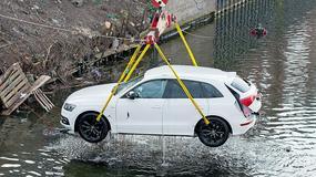 Jazda próbna Audi zakończona utopieniem
