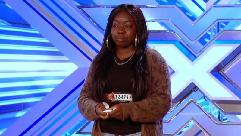 "Bezdomna nastolatka w brytyjskim ""X Factor"" (fot. youtube)"