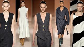 Victoria Beckham na jesień – zimę 2015: sukienka w wyrafinowanej odsłonie
