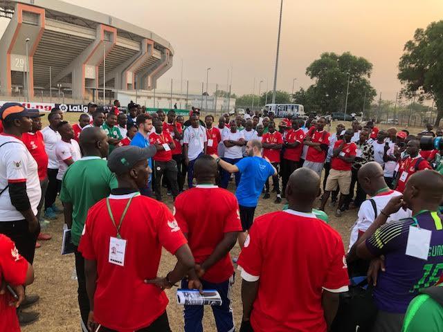 2020 NPFL/La Liga U15 coaching clinic draws over 150 participants in Abuja (La Liga)