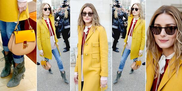 BEST LOOK: Olivia Palermo w płaszczu Coleman