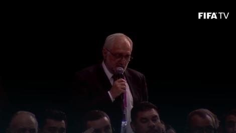 Obraćanje Željka Kojića na Kongresu FIFA