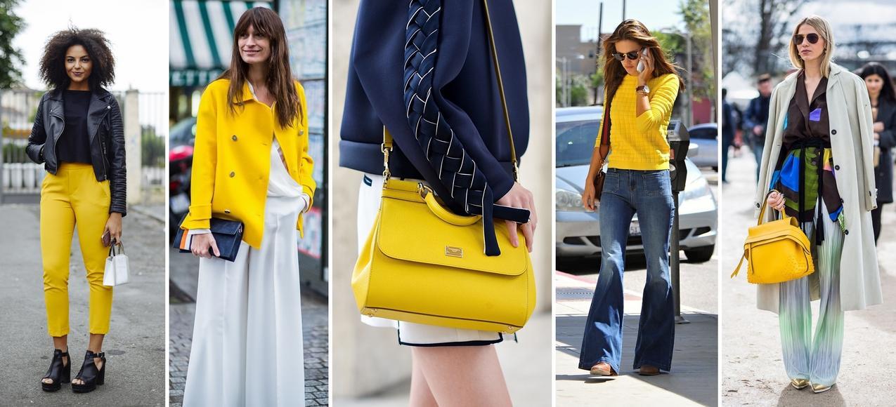 Moda w kolorze żółtym