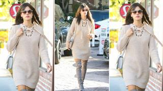 Best Look: Alessandra Ambrosio w sukience Anthropologie