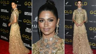 Best Look: Camila Alves w kreacji Marchesa