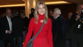 Grażyna Torbicka podkreśliła figurę czerwoną sukienką. Co za kształty!