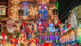 Niesamowite zdjęcia dekoracji świątecznych z nowojorskich ulic
