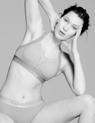 "Bella Hadid bez makijażu i Photoshopa dla ""CR Fahion Book"""