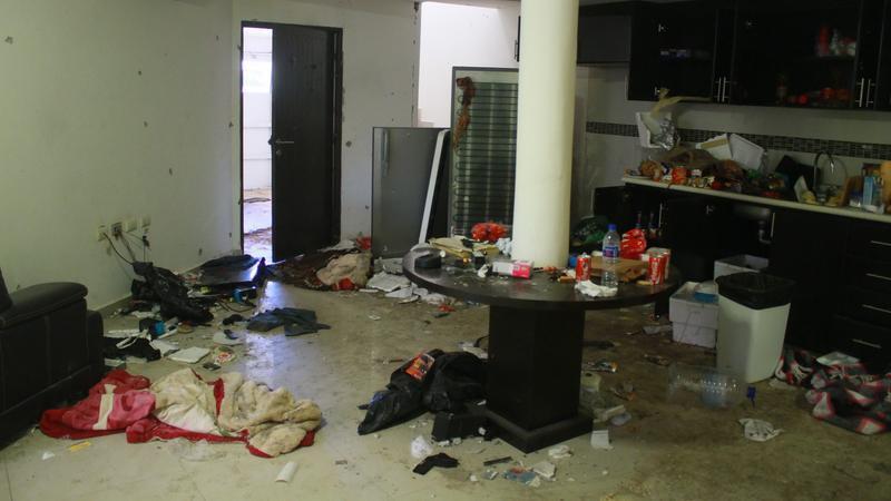 A hírhedt drogbáró rejtehelye / Fotó: MTI