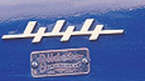 Volvo PV444 - Uroczy, starszy szwed