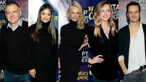 Pamela Anderson i inne gwiazdy na Warsaw Comic Con