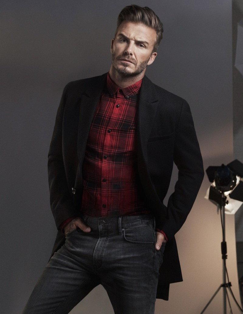 David-Beckham po raz kolejny gwiazdą H&M