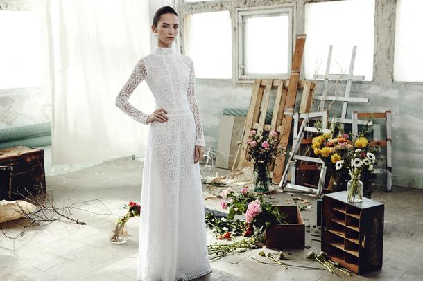 Piękne suknie ślubne polskiej marki