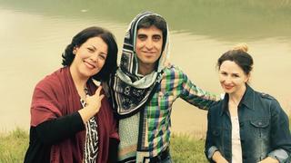 Irańscy mężczyźni solidaryzują się z kobietami nosząc hidżaby