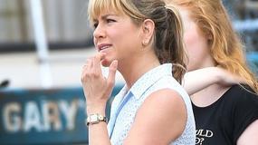 Jennifer Aniston wygląda inaczej. Jest w czwartym miesiącu ciąży?