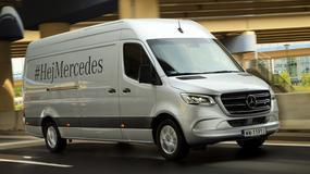 Mercedes Sprinter 316 CDI - dostawczak chce być trendy