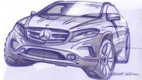 Mercedes GLA w wersji produkcyjnej