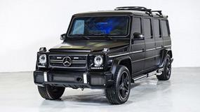 Mercedes G63 AMG - opancerzone limo