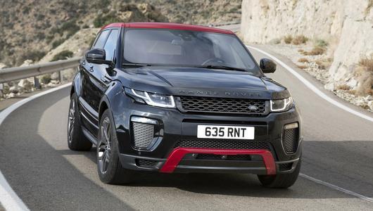 Range Rover Evoque Ember Edition – kilka zmian