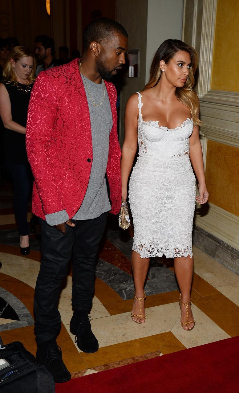 2013: Kanye West i Kim Kardashian / Getty Images