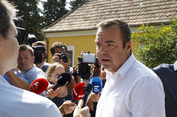 L. Simon László fideszes országgyűlési képviselő /Fotó: MTI-Varga György