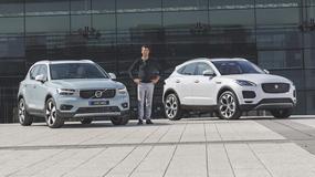 Jaguar E-Pace i Volvo XC40 - małe, ale prestiżowe