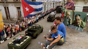 Kubańczycy żegnają swojego dyktatora