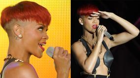 Rudowłosa Rihanna zdobywa Madryt