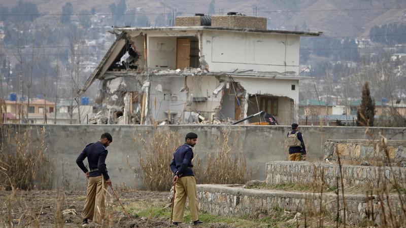 Zniszczona kryjówka Osamy bin Ladena, fot. Reuters/Faisal Mahmood