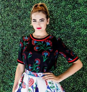 Best Look: Camilla Belle w Andrew Gn
