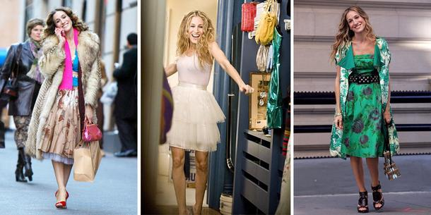 """13 niezapomnianych kreacji Carrie Bradshaw z """"Seksu w Wielkim Mieście"""""""