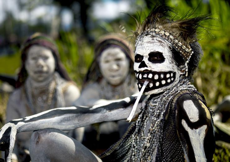 2007, Hagen hegység, Pápua Új-Guinea / Fotó: NORTHFOTO