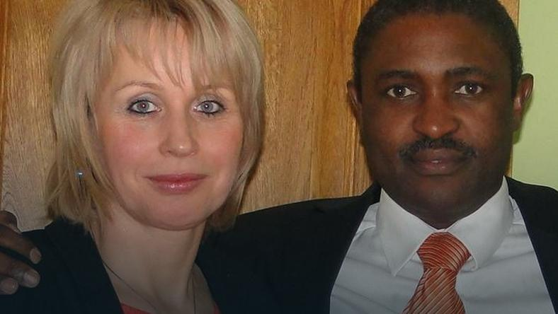 Poseł Killion Munyama z żoną Elżbietą, fot. arch. rodzinne