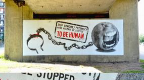 Węzeł Pokoju w Gdyni jak wielki plakat