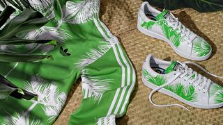 Kolorowe palmy w nowej kolekcji Pharrell Williams x adidas Orignals