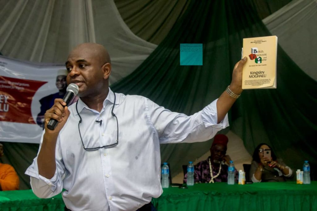 Moghalu has promised to economically restructure the country in a way that every zone benefits