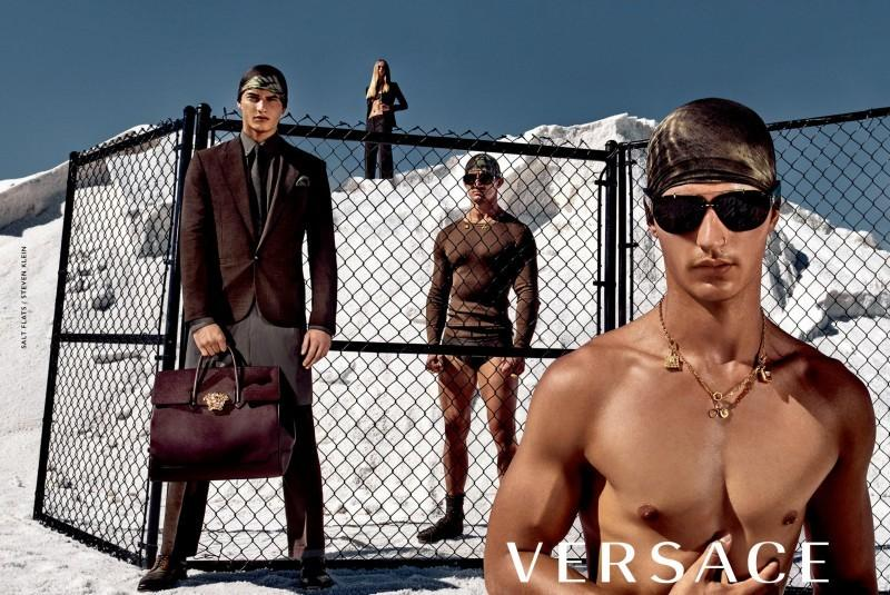 Kampania Versace ss2016VUMA