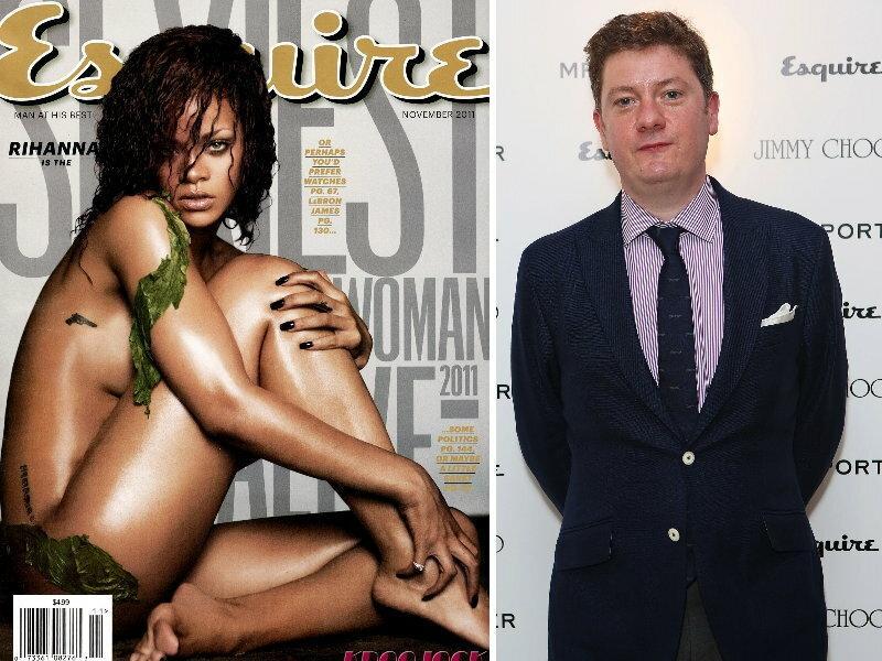 Alex Bilmes - redaktor naczelny brytyjskiego Esquire/ fot. Getty Images