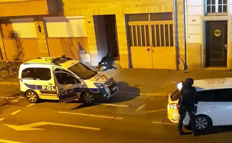 Strasbourg - végeztek a rendőrök a terroristával / Fotó: MTI Christophe Ena