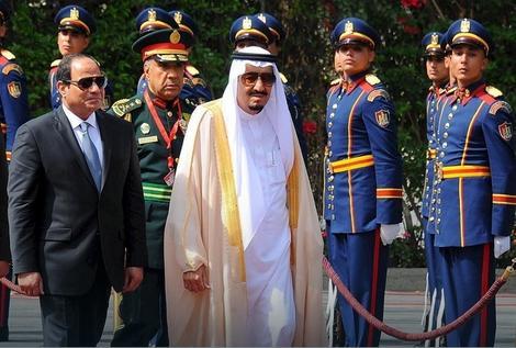 Egipatski predsednik Abdel Fatah Al Sisi i saudijski kralj Salman