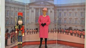Figura woskowa królowej Elżbiety II. Chyba się nie udała