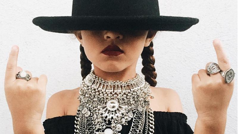5-latka przebrana za Beyonce