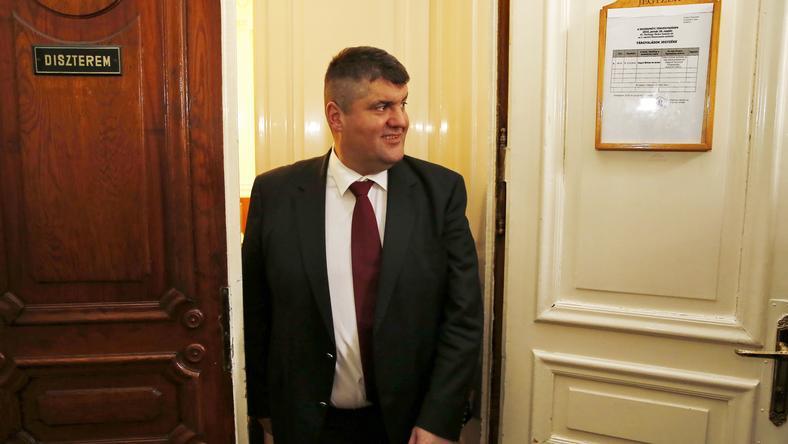 Az elsőrendű vádlott, Hagyó Miklós felfüggesztett börtönt kapott a korrupciós perben / Fotó: Fuszek Gábor