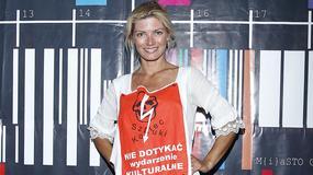 Małgorzata Lewińska wciąż zalicza modowe wpadki...