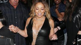 Mariah Carey w typowej dla siebie stylizacji. Czyli ściśnięta jak baleron