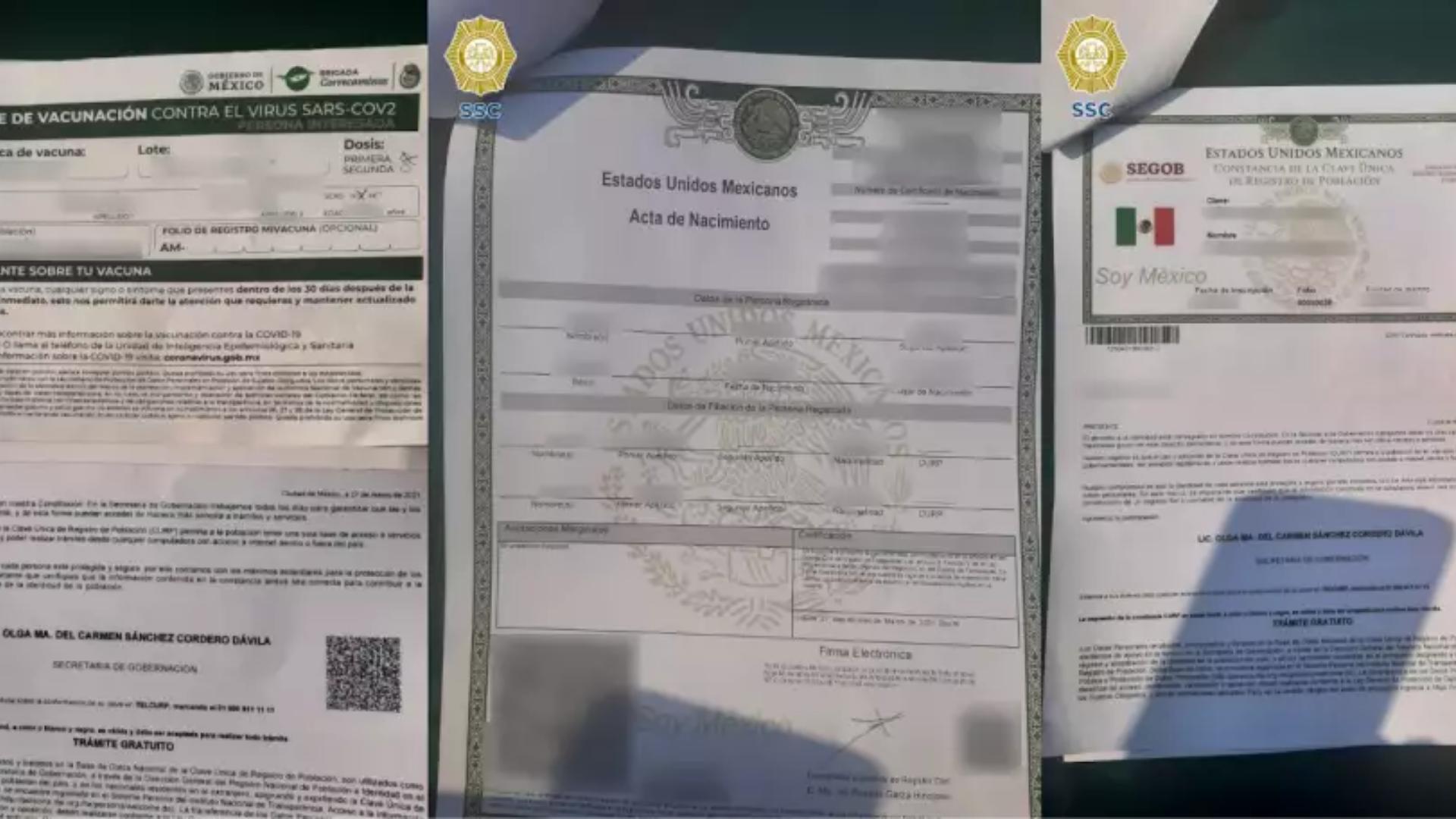 Muži použili dokumenty Rubénových rodinných príslušníkov.