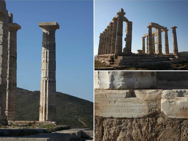 Świątynia Posejdona jest jednym z najpilniej strzeżonych miejsc w Grecji.